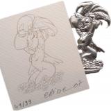 Figurine ange de Crisse
