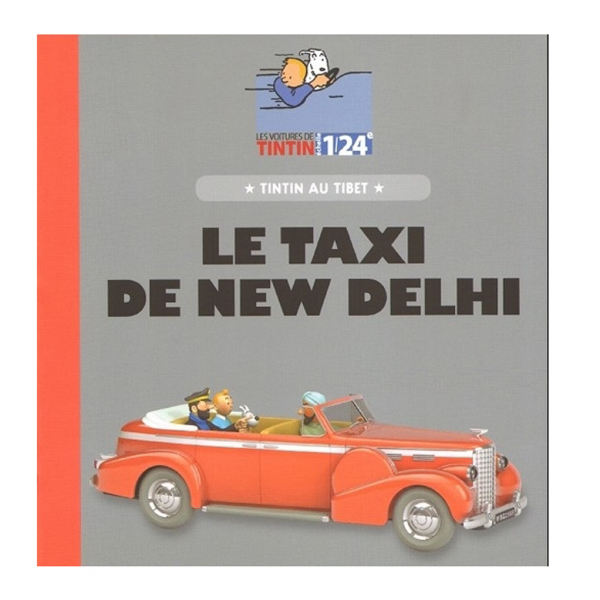 Tintin 1/24 vehicle : Tintin in Tibet New Delhi taxi