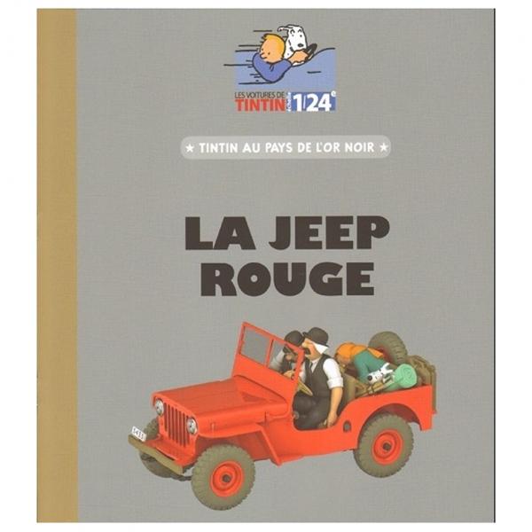 Tintin 1/24 vehicle : Land of black gold jeep
