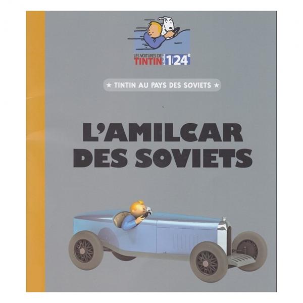Les véhicules de tintin au 1/24 - L'Amilcar de Tintin au pays des Soviets
