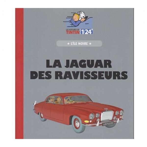 Tintin's cars 1/24 - The Jaguar from The Black Island