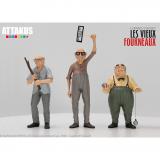 Coffret de trois figurines Les Vieux Fourneaux par Attakus