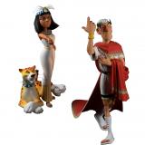 Figurine Fariboles - Cléopatre et sa panthère
