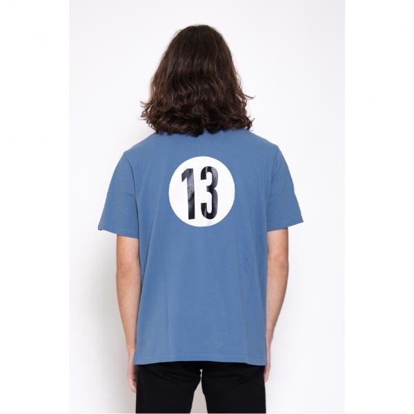 Polo N°13 bleu, taille M