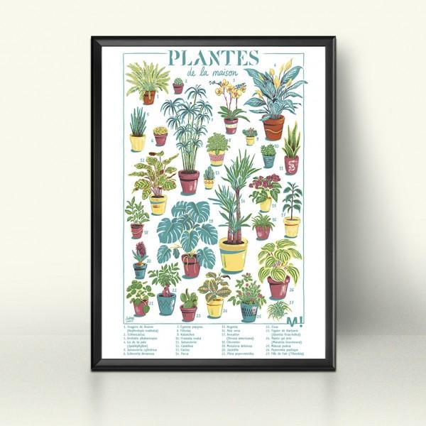 Silkscreen House plants