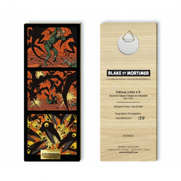 Wooden collection board - The Pterodactyls