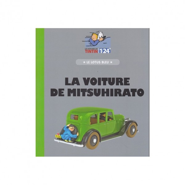 Tintin's cars 1/24 - Mitsuhirato's sedan from The Blue Lotus