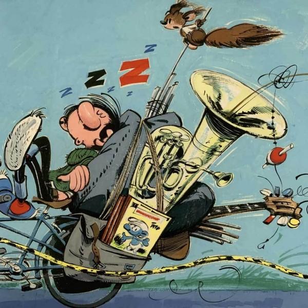 Digigraphie Journal de Spirou spécial vacances (1964)
