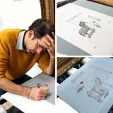 Lithographie Plan à Troie, 50 nuances de Grecs