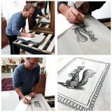 Lithographie Spirou, Spip se tape l'affiche par Emile Bravo