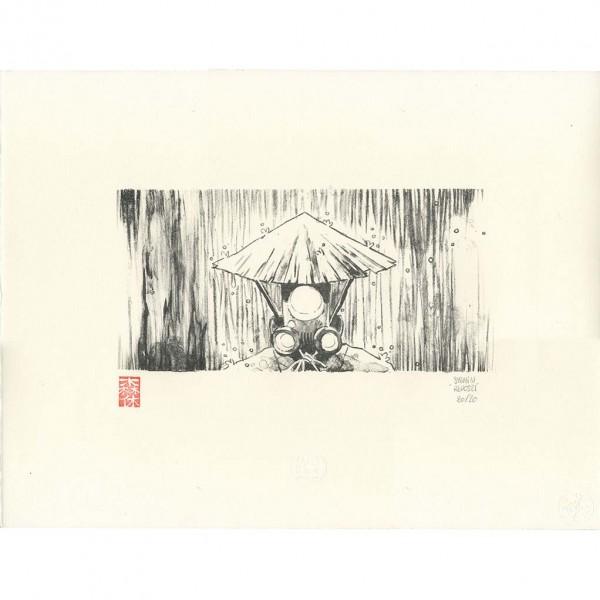 Lithographie Yojimbot, Pluie d'acier