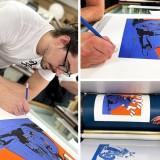 Lithography Yojimbot, Le sabreur à deux roues