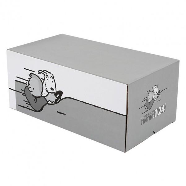 Les Véhicules de Tintin au 1/24 : La 5CV des Dupondt
