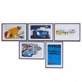 Box Michel Vaillant Art Strips x 24H du Mans