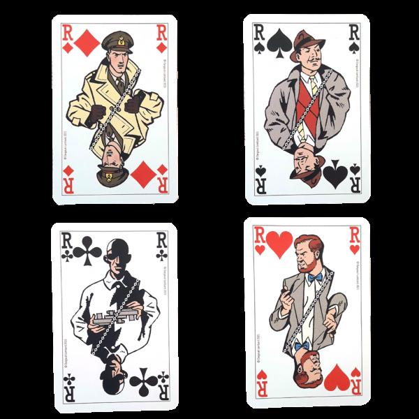 Jeu de 52 cartes Blake et Mortimer