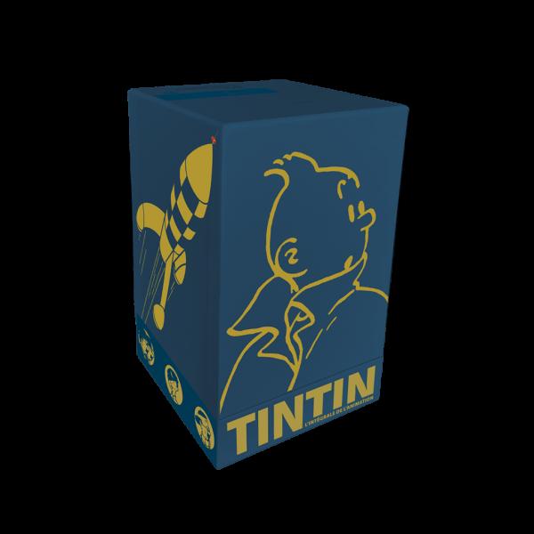 Coffret Tintin - Intégrale de l'animation et figurine