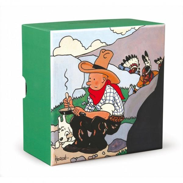 Tintin and Milou in America