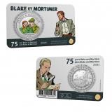 Commemorative coin 5 euros 75th anniversary Blake & Mortimer Color