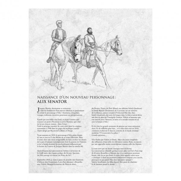 Alix Senator - Le Cycle des rapaces - Édition en noir et blanc