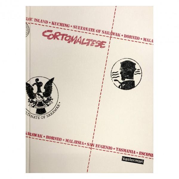 Deluxe album Corto Maltese Vol.15 Tarowean's day