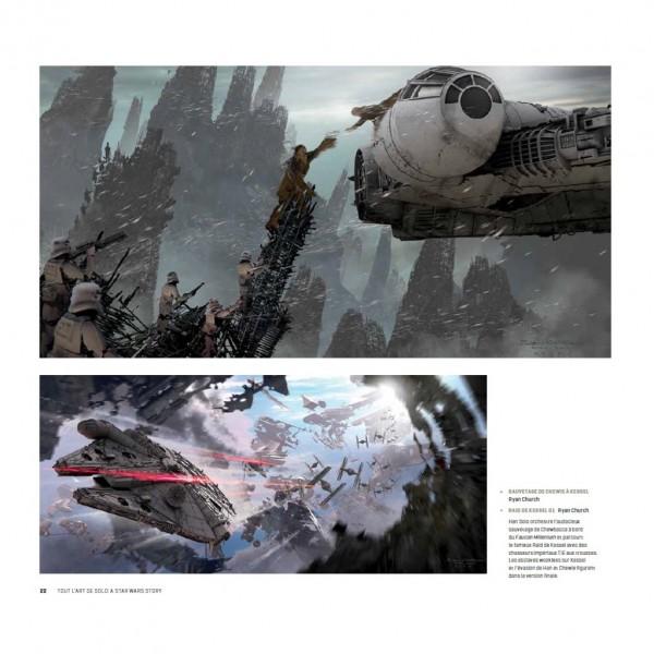 Tout l'art de Solo : A Star Wars Story