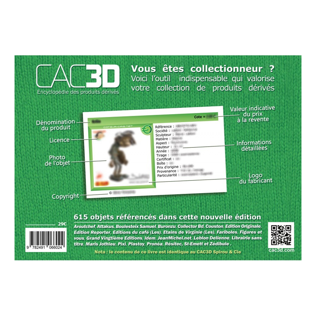 CAC3D - Franquin - Couverture Gaston & Cie - secondaire-1