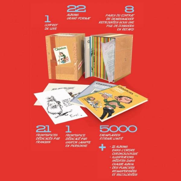 Coffret plein Gaston Edition Chronologique
