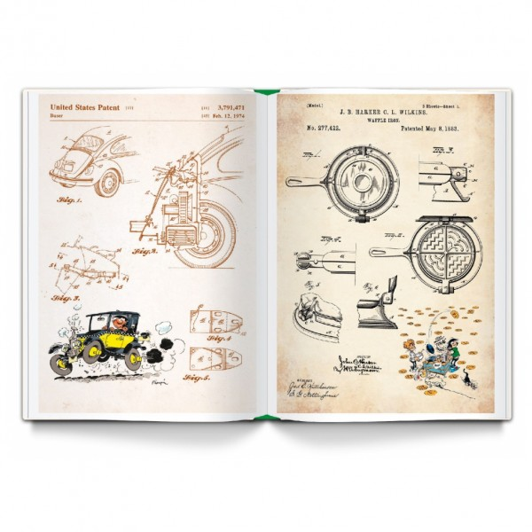 Album Gomer Goof The inventions book (french Edition)