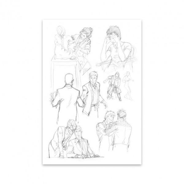 Largo Winch tomes 21 et 22 - Tirage de Luxe