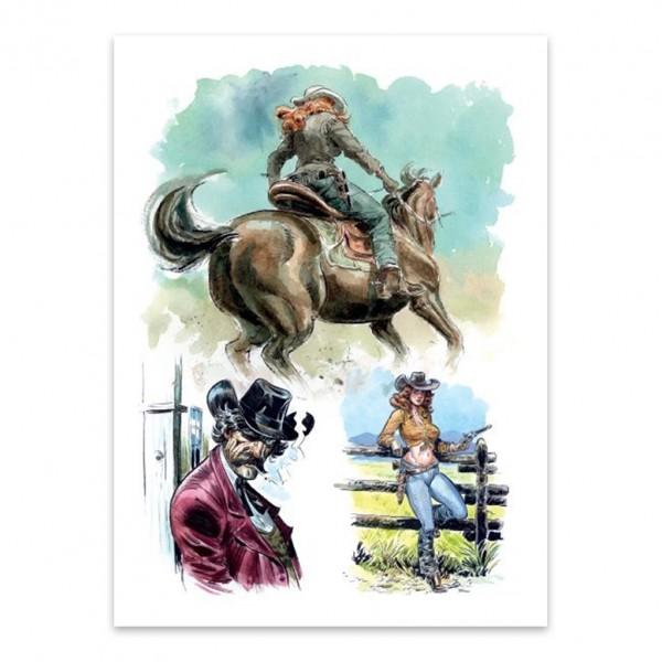 Tirage de luxe - Wild West : Tome 1, Calamity Jane