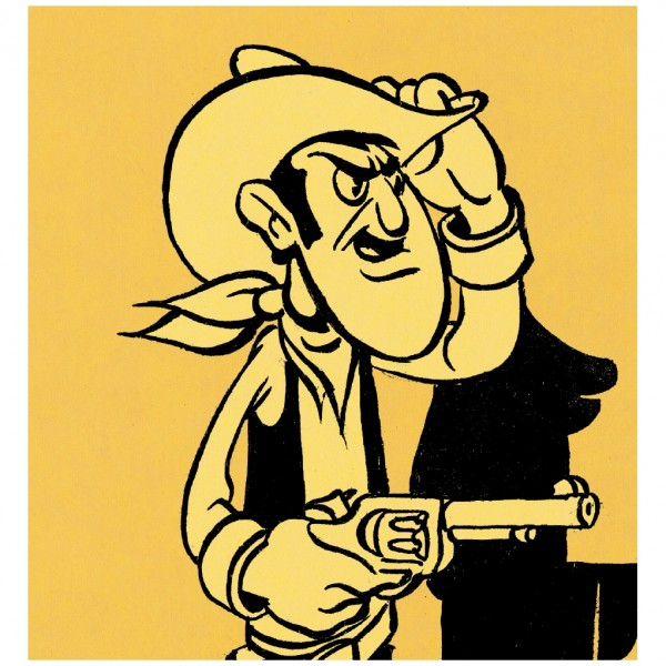 Lucky Luke, l'art de Morris
