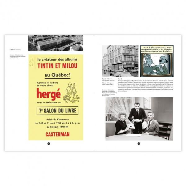 Livre Tintin et le Québec: Hergé au coeur de la Révolution tranquille