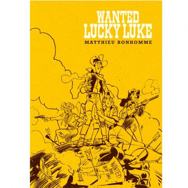 Tirage de tête Wanted Lucky Luke