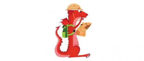À la recherche de dragon rouge