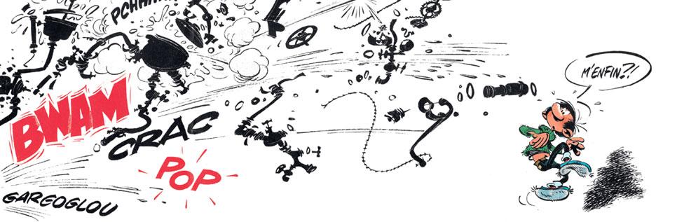 Gaston - Au-delà de Lagaffe (catalogue de l'expo à la BPI)